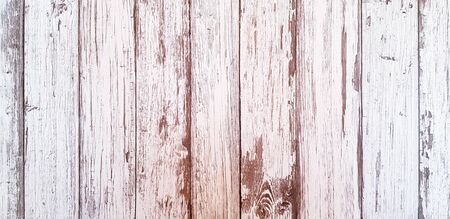 White painted on grunge wooden frame or panel for background - Art or Abstract wallpaper Archivio Fotografico - 129273393