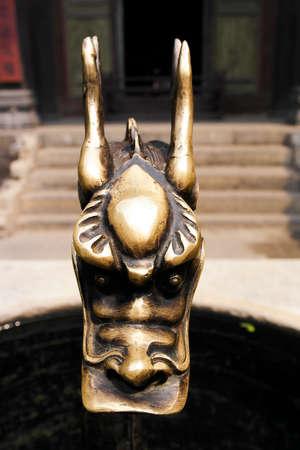 courtyard: Gaos family courtyard - Dragon Sculpture