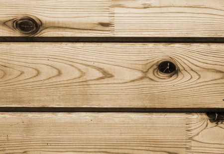 Close-up of lateral wooden lining boards Stock Photo