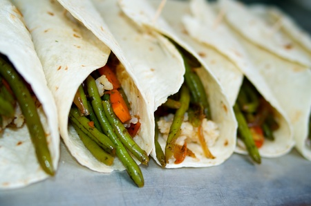 green bean: Green bean Burritos