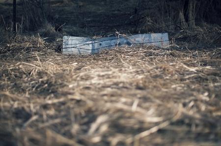 no trespassing: No hay se�ales allanamiento Foto de archivo