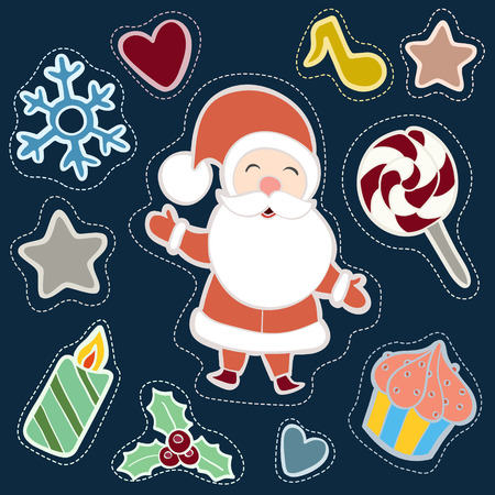 patch: Christmas patch badges