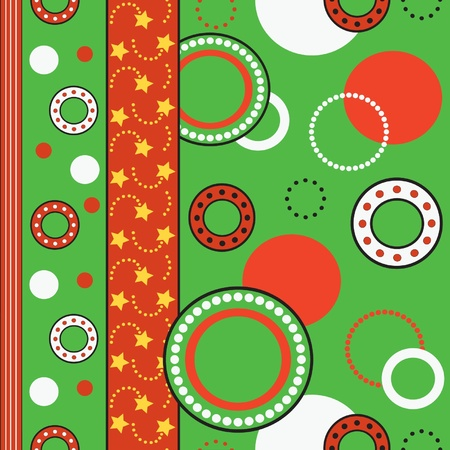 New Year seamless texture. Vector