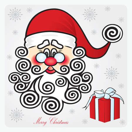 Santa Claus.  Vector