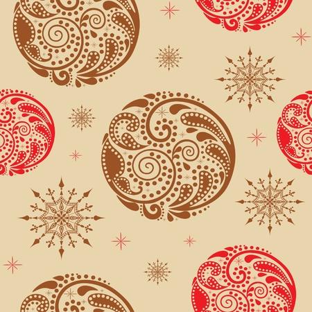 Vintage texture homog�ne avec des cercles de dessin de la feuille. illustration.