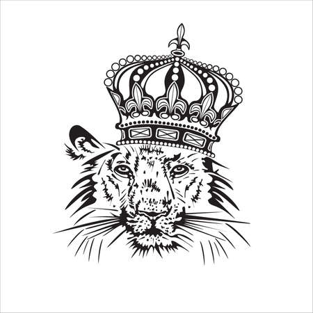 king crown: Lion.