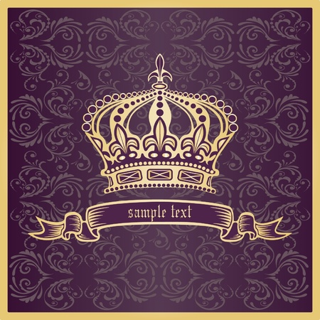 gold crown: Crown.