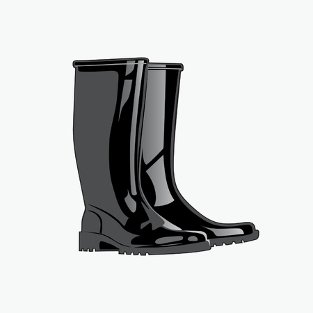 Rainboots.