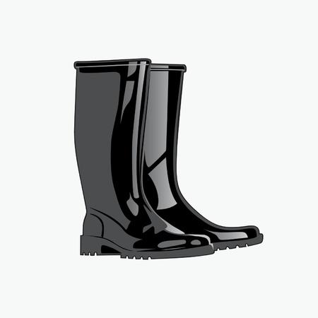 rain boots: Rainboots.