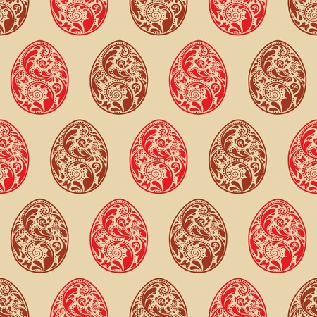Vintage seamless Easter texture