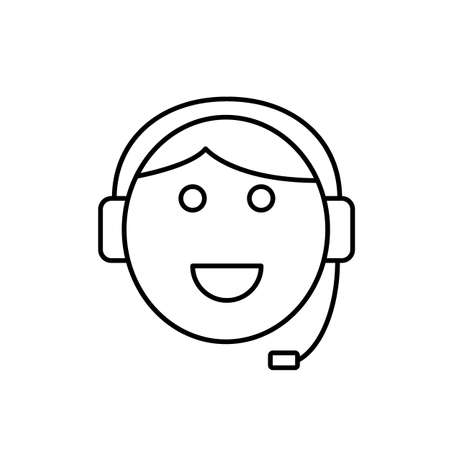 students icon element of e-learning icon for mobile concept and web apps. Premium icon on white background. 向量圖像