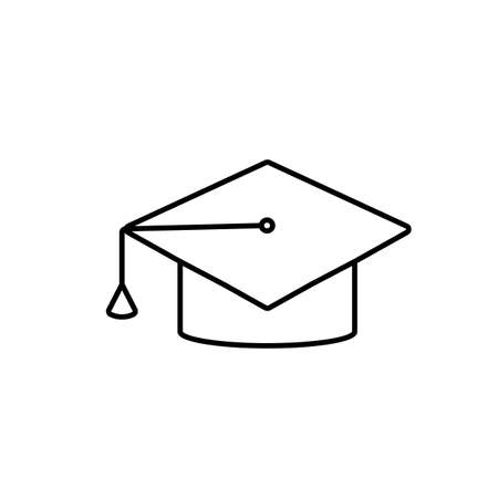 education icon element of e-learning icon for mobile concept and web apps. Premium icon on white background.