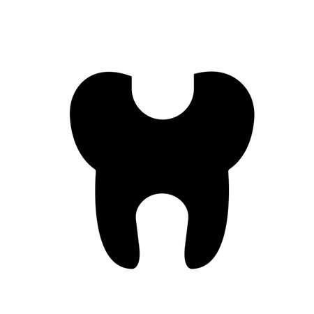 dental fillings icon element of dentistry icon for mobile concept and web apps. Premium icon on white background. Çizim