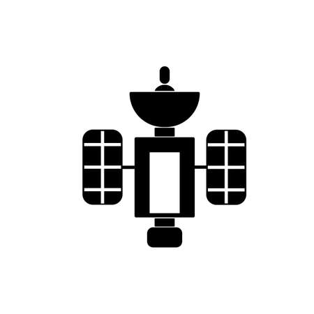 satellite icon element of space icon for mobile concept and web apps. Thin line satellite icon can be used for web and mobile. Premium icon on white background. 矢量图像