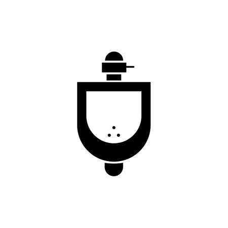 urinal icon element of plumbing icon for mobile concept and web apps. Thin line urinal icon can be used for web and mobile. Premium icon on white background.
