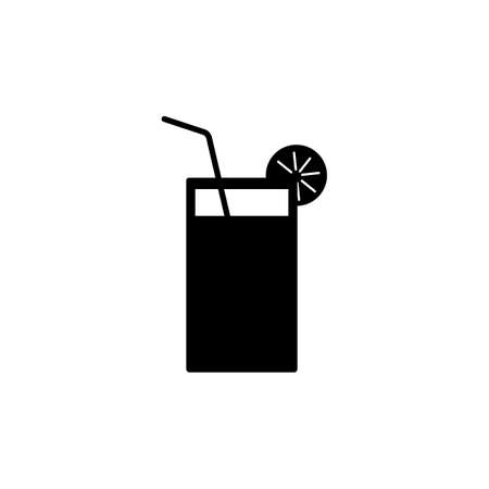 cocktail icon element of bar icon for mobile concept and web apps. Thin line cocktail icon can be used for web and mobile. Premium icon on white background.