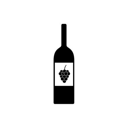 wine bottel icon element of bar icon for mobile concept and web apps. Thin line wine bottel icon can be used for web and mobile. Premium icon on white background. 向量圖像