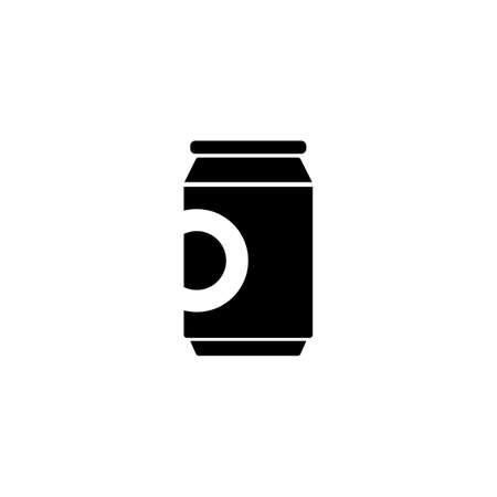 can of beer icon element of bar icon for mobile concept and web apps. Thin line can of beer icon can be used for web and mobile. Premium icon on white background.