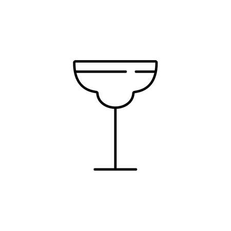 cocktail icon element of bar icon for mobile concept and web apps.  Premium icon on white background. 向量圖像