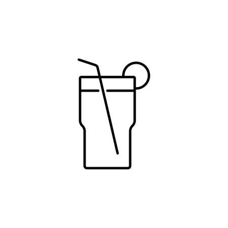 cocktail icon element of bar icon for mobile concept and web apps. Premium icon on white background.