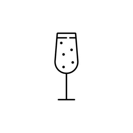 cocktail icon element of bar icon for mobile concept and web apps.  Premium icon on white background. Stock Illustratie