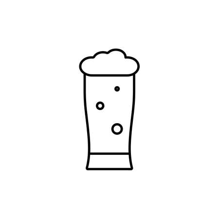 beer icon element of bar icon for mobile concept and web apps. Premium icon on white background.