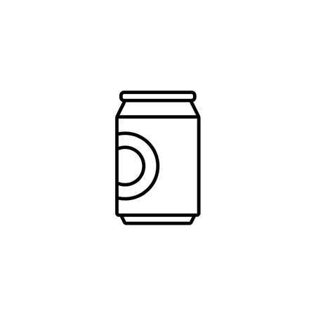 can of beer icon element of bar icon for mobile concept and web apps. Premium icon on white background.