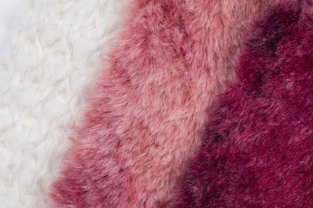 fluffy fur swatch background.