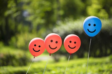 happy balloons background Stock fotó