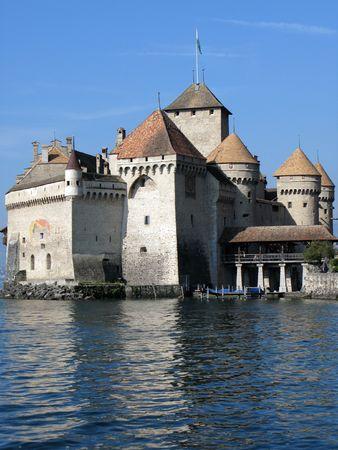 chillon: Chillon castle, Geneva lake