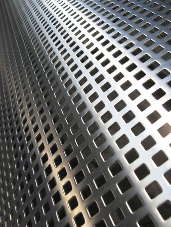 reticular: Metal mesh