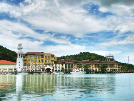 langkawi island: Port of Langkawi island, Malaysia Stock Photo