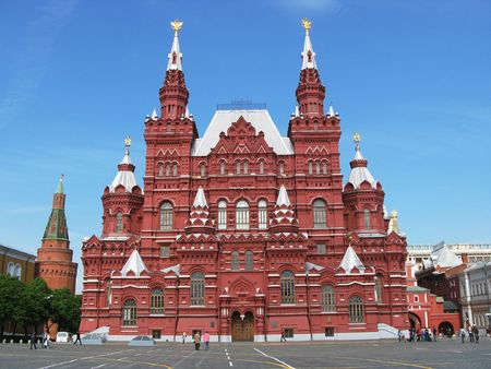 Famous historical museum on the Red Square in Moscow Stock Photo - 6159066