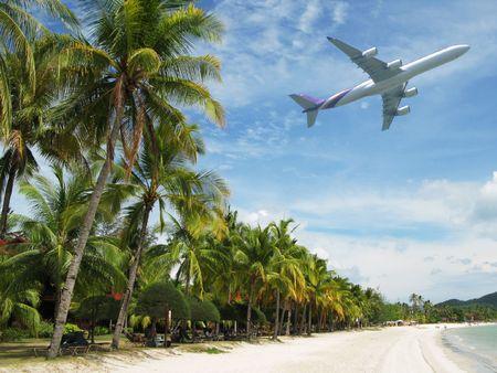 Tropical beach of Langkawi island Stock Photo - 6158609