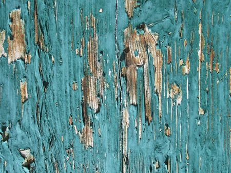 Old flaked wooden background photo
