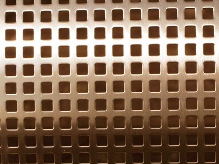 cribriform: Metal mesh