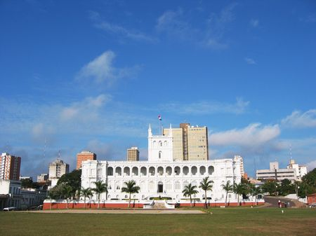 Paraguay: Palais pr�sidentiel Lopez � Asuncion