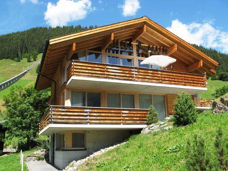 Holiday cottage in Muerren, Switzerland