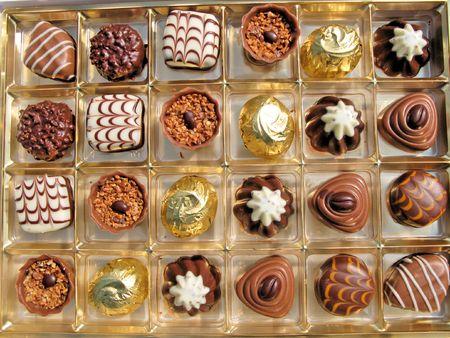 Swiss chocolate photo