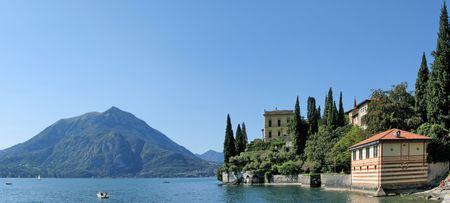 como: Lake Como from villa Monastero. Italy