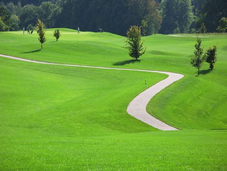Golf course Stock Photo - 6158327
