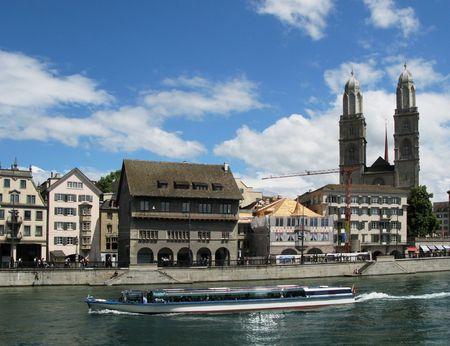 Zurich downtown photo
