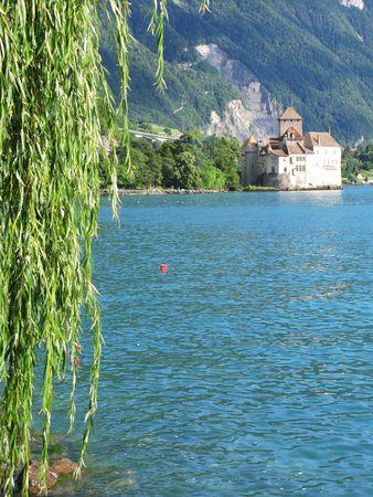 chillon: Chillion castle in Montreux, Switzerland