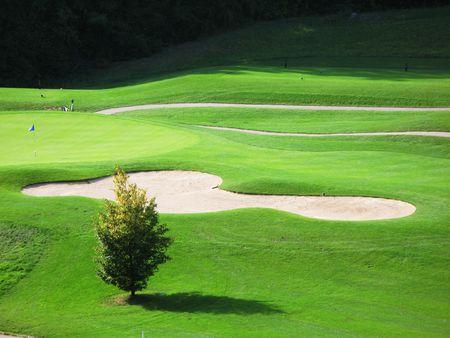 Golf course Stock Photo - 6158909