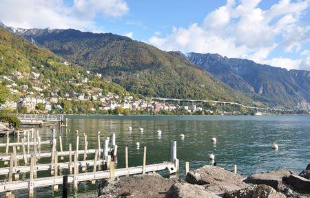montreux: Montreux, Geneva lake, Switzerland