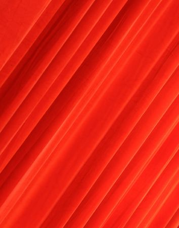 Red drapery Stock Photo - 6159388