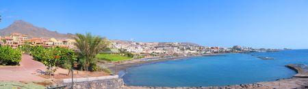 adeje: Panoramic view of Costa Adeje bay of Tenerife island (Canaries)