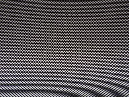 cribriform: Metal mesh texture