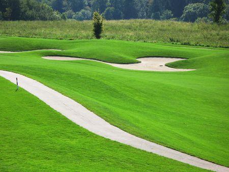 Golf course Stock Photo - 6159530