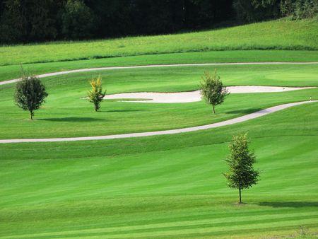 Golf course Stock Photo - 6160067